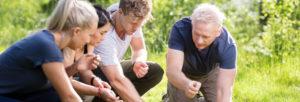 Team building en pleine nature